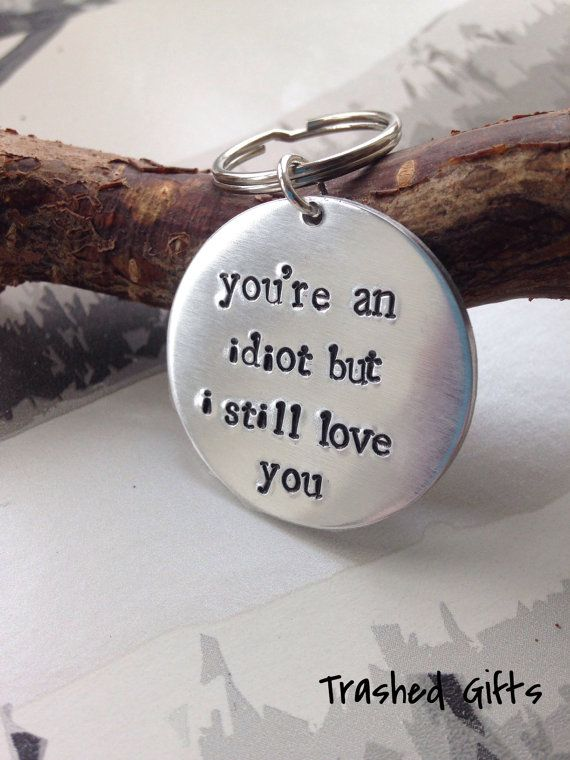 Gift for him Gift for her Valentines Gift Funny by TrashedGifts