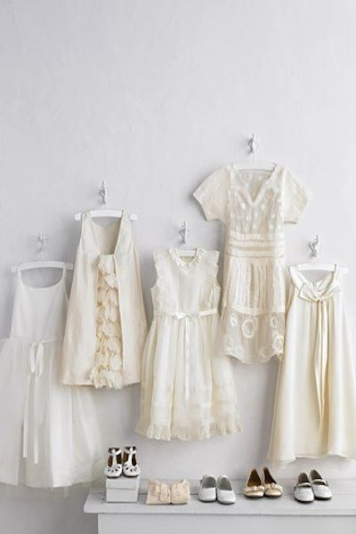 Country flower girl dresses.