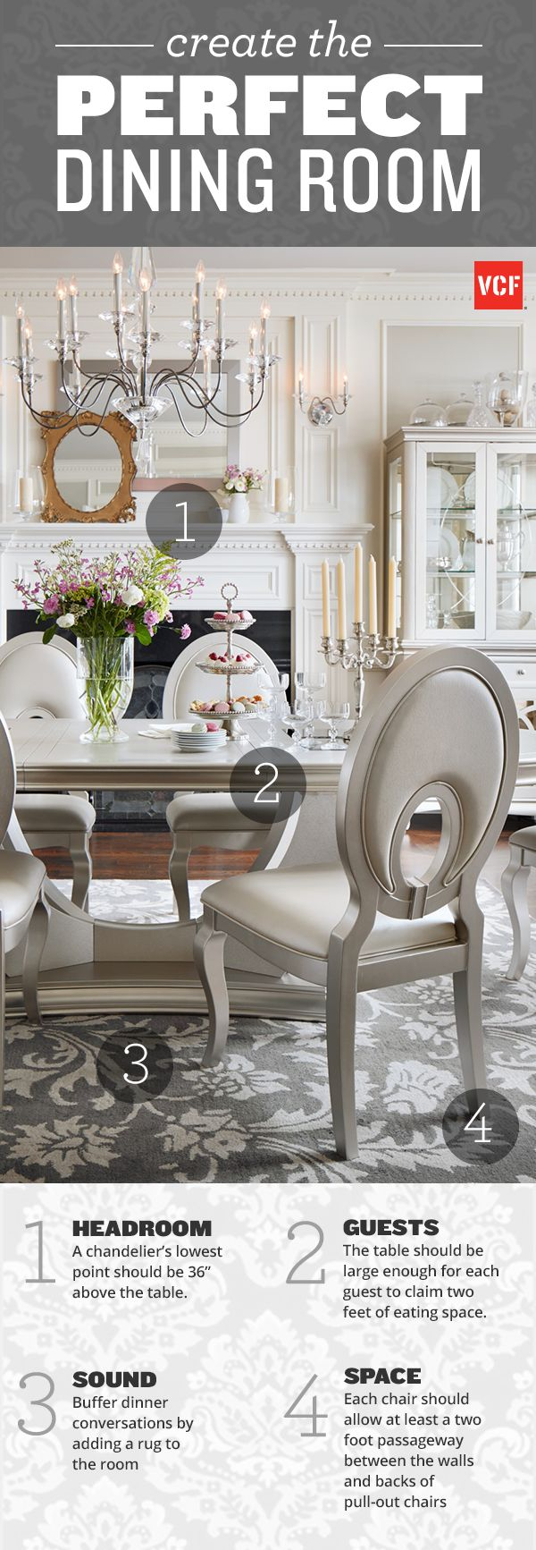 There Are Many Tips And Tricks To Create The Perfect Space For Dining