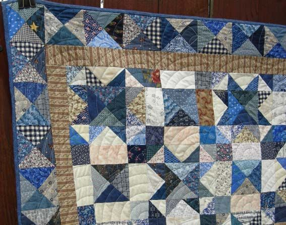 """My Blue Heaven""  Quilt Pattern by Bonnie Hunter of Quiltville.com"