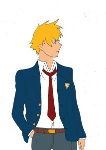 School boy - Manga / Anime Tutorial #manga #anime #tutorials