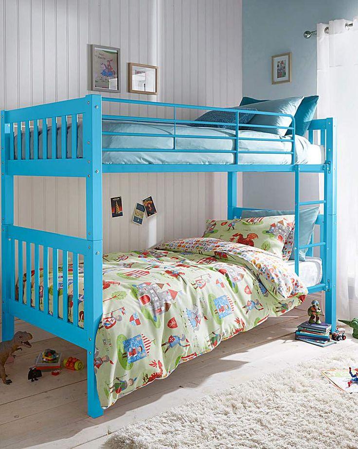 Ashleigh Bunk Bed Bunk beds, Bed, Toddler furniture