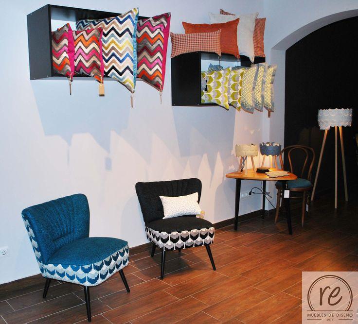 #tienda de muebles #sillones #butacas orginales #butaca klubowa #butaca anos 60 #cojines