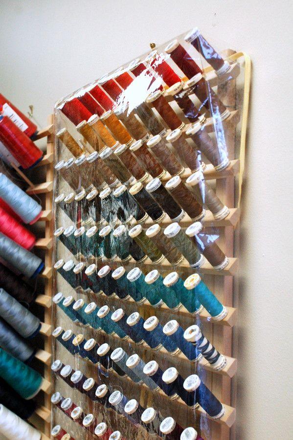 25 Best Ideas About Thread Storage On Pinterest Thread