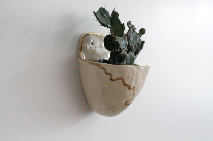 New in the Studio: Wall Pouch Planters – L&R Studio
