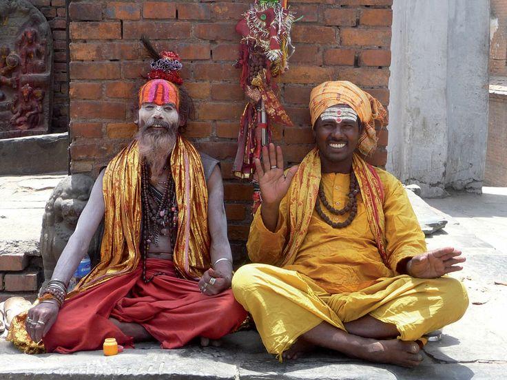 Les saddhous de Pashupatinath, haut lieu hindou de Katmandou