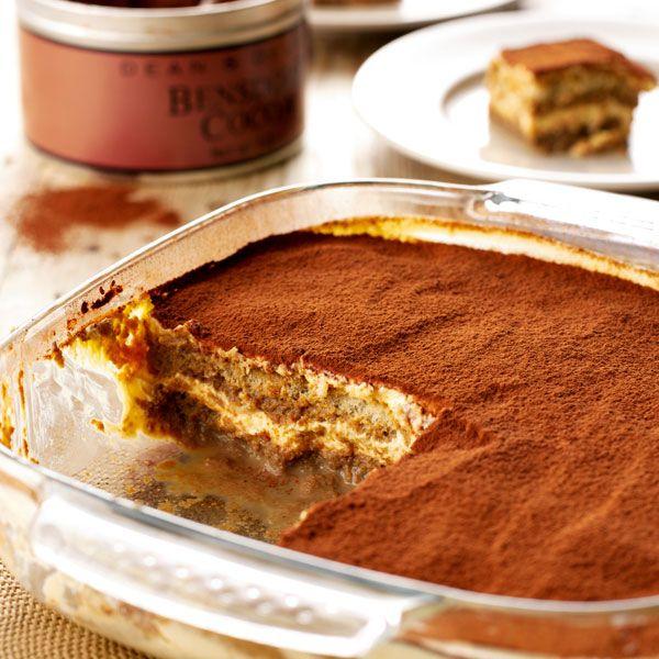 This Irish cream tiramisu recipe is a delicious take on an Italian classic.