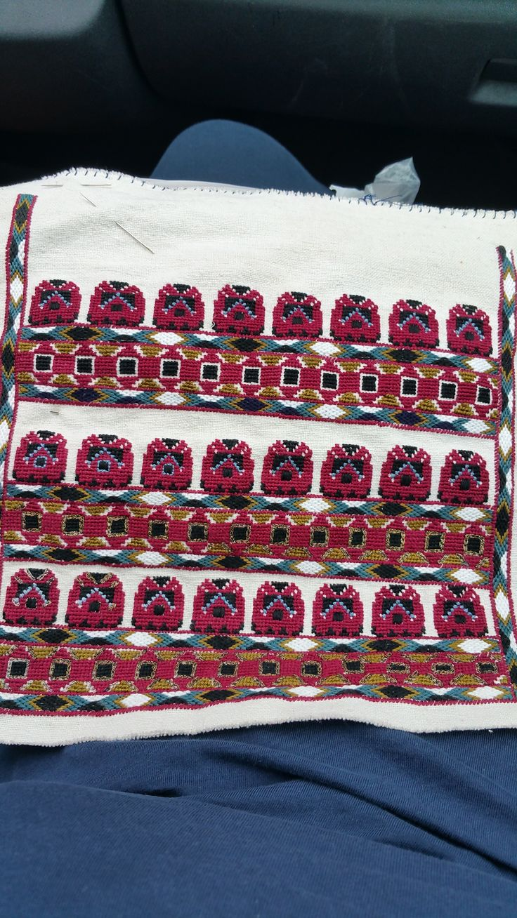 Romanian blouse embroidery, 2 months work