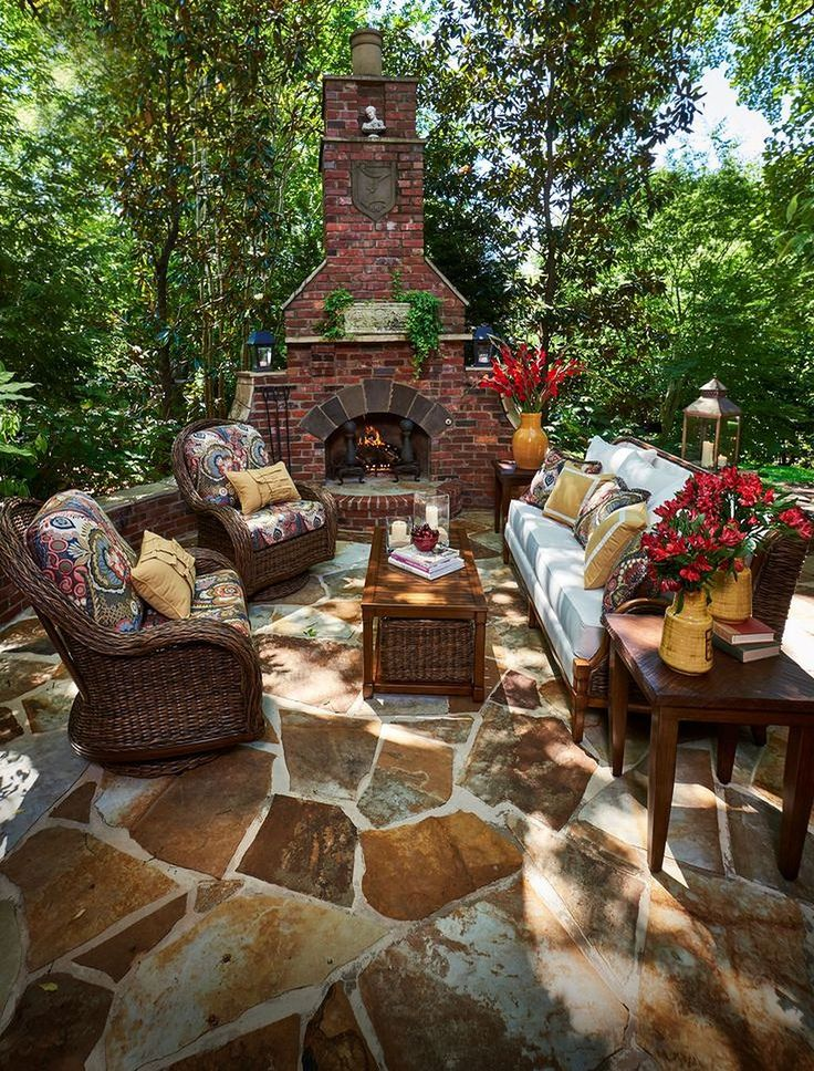 30+ Amazing Outdoor Fire Pits Inspiration in 2020 | Rustic ... on Amazing Outdoor Fireplaces id=67636
