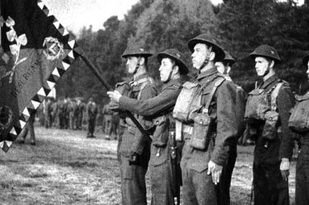 Czechoslovak soldiers in Great Britain
