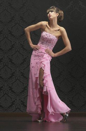 Abendkleid Luxus Gala Kleid pink