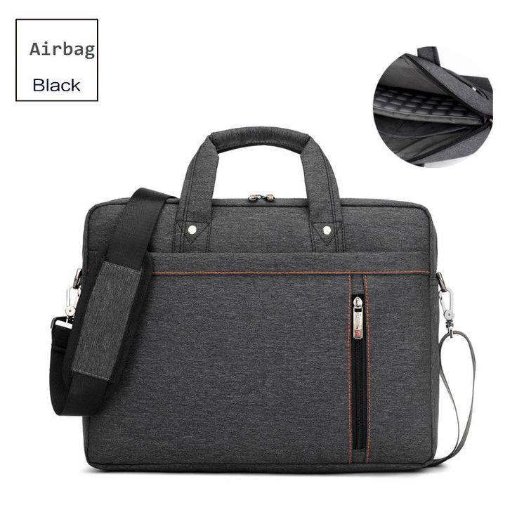 Brand Luxury thick waterproof Laptop bag 17.3 17 15.6 15 14 13.3 13 inch Shoulder portable Messenger Women Notebook bag 2016