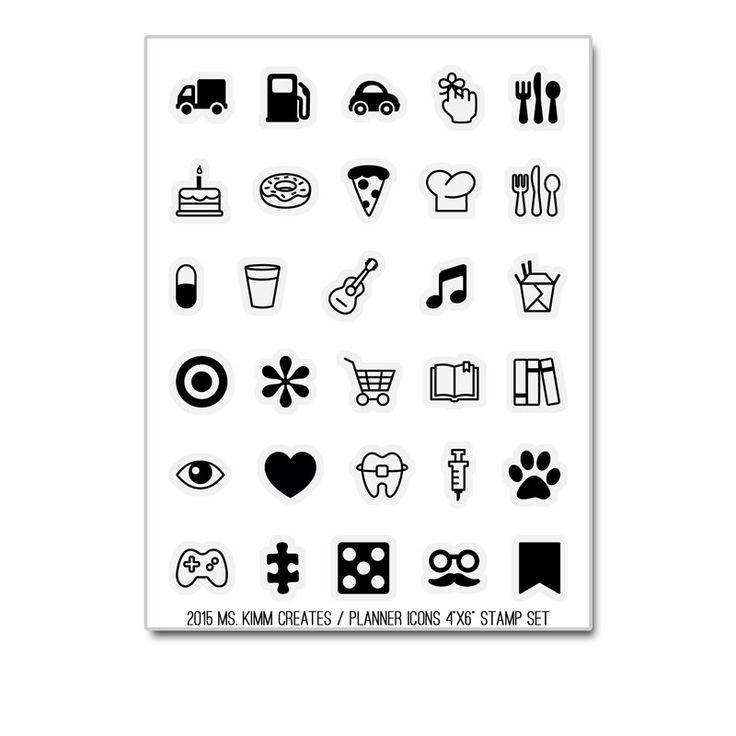 Von Sendungsverfolgung Lebensmittel, Musik, Einkaufen, Arbeitsplätze und Gamer deckt dieses Set eine Reihe von Icons für den täglichen Gebrauch.  Symbolgrößen sind ungefähr 11/32(.35 Zoll).  Meine Briefmarken sind von der höchsten Qualität, gelb widerstehen Photopolymer. Alle Stempel sind von mir, Frau Kimm, entworfen und hier in den USA hergestellt. Briefmarken produzieren schöne scharfe, saubere Bilder.  So nutzen: -Das Bild von dem Blatt Speicher entfernen -Halten Sie das Bild an Ihre…