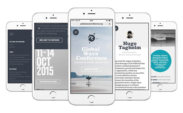Global Wave Conference 2015 on Behance