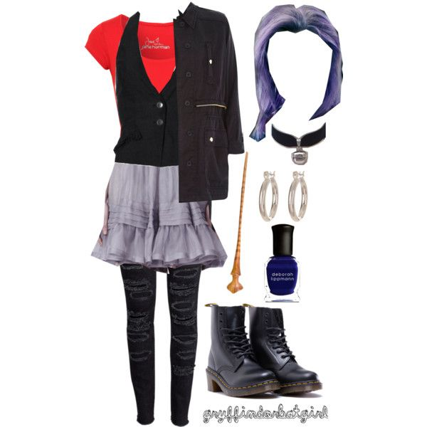 Tonks Costume Dress Up Geekery Harry Potter Cosplay