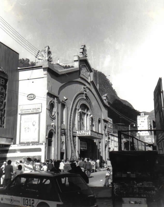 Bogotá antigua - Teatro Faenza Bogotá, Colombia