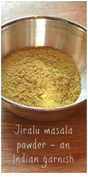 A simple and easy to make garnish; this powder adds a perfect zing when sprinkled over yogurt or potato dishes. Use it to jazz up your french fries! #indianfood #garnish #vegan #vegetarian via @https://uk.pinterest.com/endofthefork