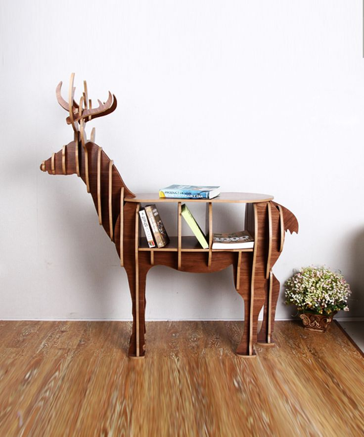 Deer Puzzle Table - Avant-Garde Collection - Dot & Bo