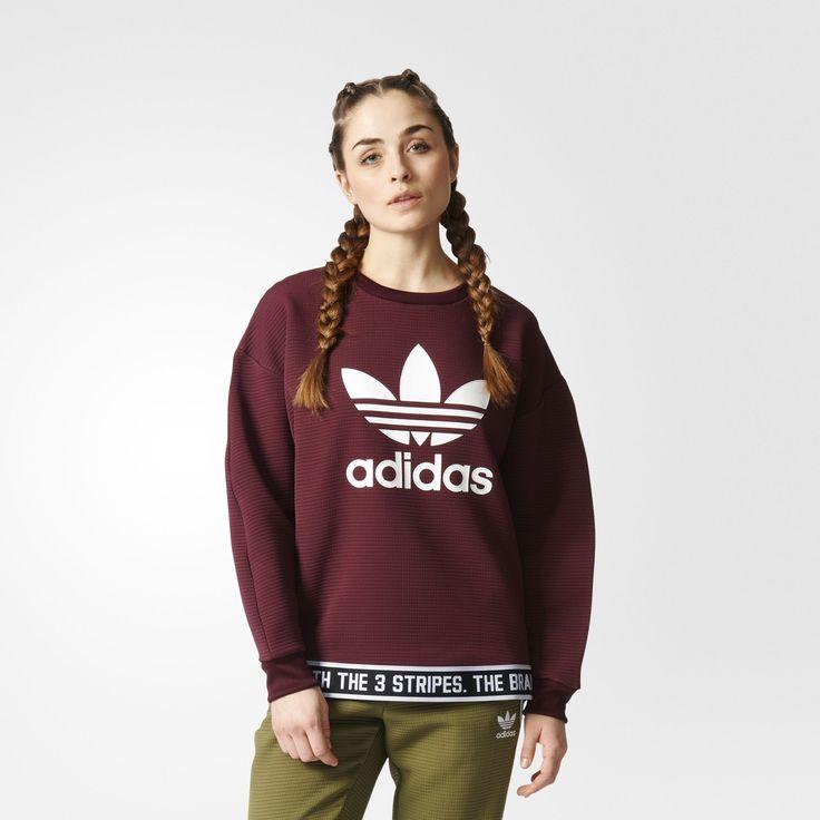 Sweat adidas bordeau - Adidas = 59,95 €