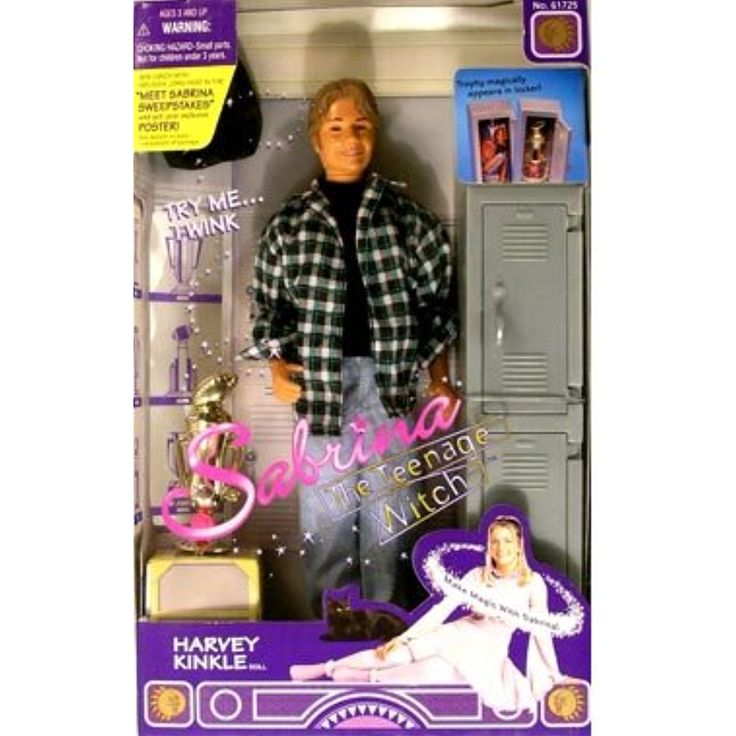 Sabrina the Teenage Witch Harvey Kinkle Doll by Kenner ** Want to know more, click on the image. (This is an affiliate link)