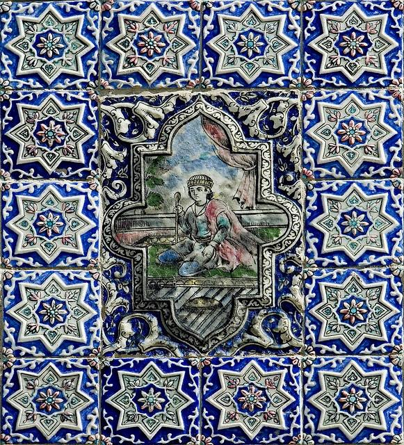 Golestan Palace, Tehran, Iran .