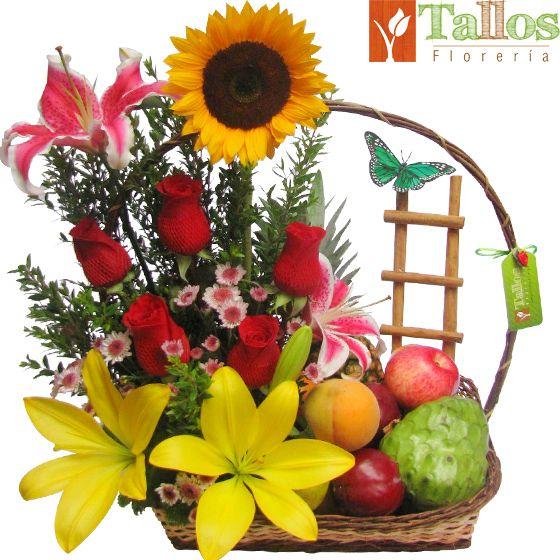 Flores Lima - Frutas & lilium.