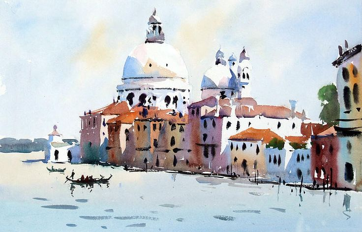 "Jake Winkle ""From Academia Bridge, Venice"""