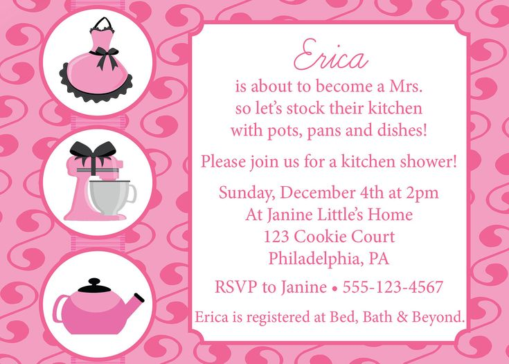 27 best bridal shower invitations images on Pinterest - bridal shower invitation samples