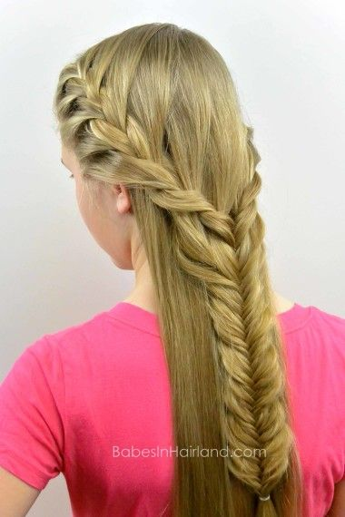 Boho Braid from Babes in Hairland