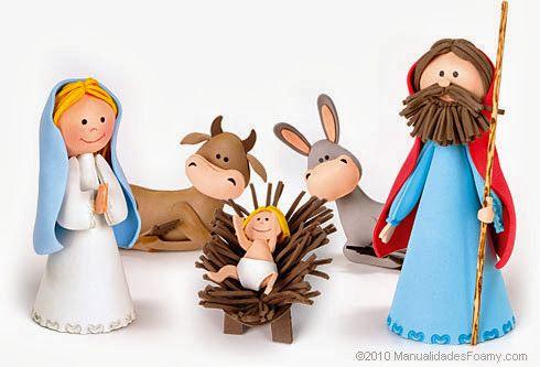 presépio em EVA decoração natalina                                                                                                                                                                                 Mais