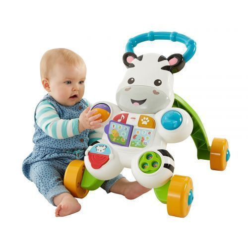 Toy Learning Walker Toddler Kids Baby Push Sit Play Stand Panel Walking Exercise #ToyLearningWalker