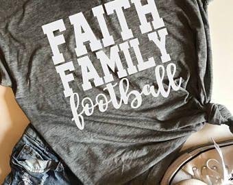 Faith Family Football SVG, PDF, PNG, dxf Design
