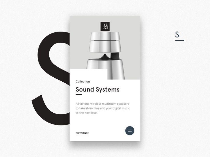 B&O Sound Systems X1 by Michael Bing