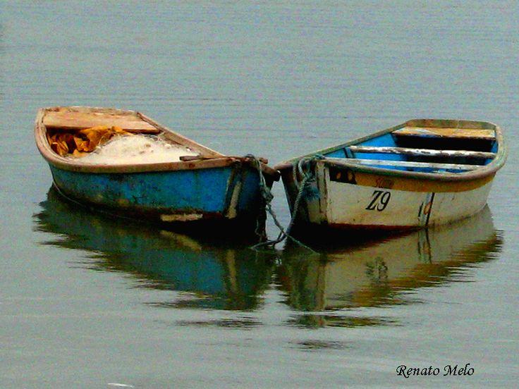 Olhares.com Fotografia   �Renato Mello   Barcos de pesca