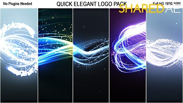 Videohive - Quick Elegant Logo Pack (5 in 1) 19300914 - Free Download