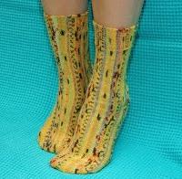 KNIT vs CROCHET slippers + socks Pinterest