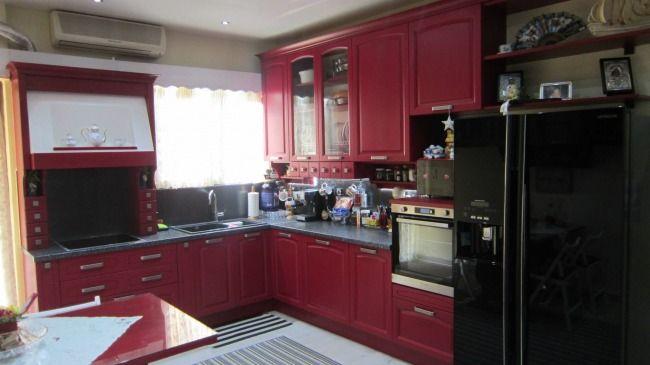 Κουζίνα ημιμασιφ Midacharme Γιώργος-Δήμητρα Κερατσίνι Τιμή κουζίνας 6000€