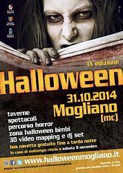 31 OTTOBRE - Halloween a Mogliano - MC