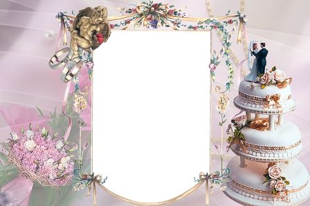 free wedding backgrounds /frames | ... memories of your wedding with wedding albums and wedding photo frames