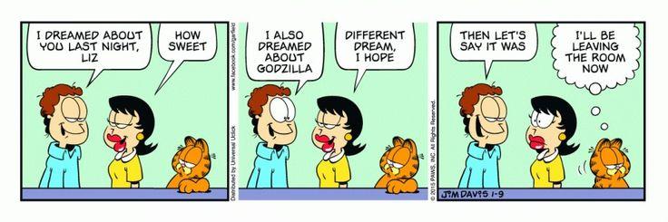 Daily cartoon strip