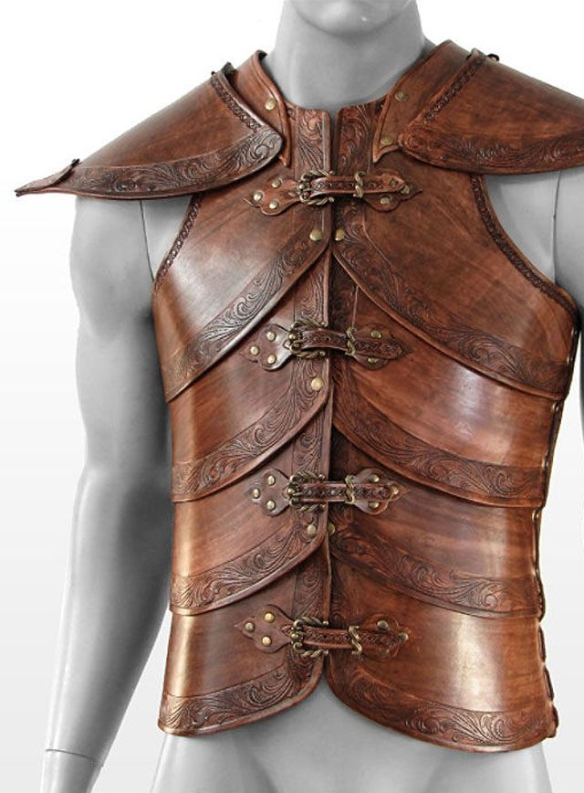 Leather Armor Designs | New Products: Sensational leather armor for LARP!
