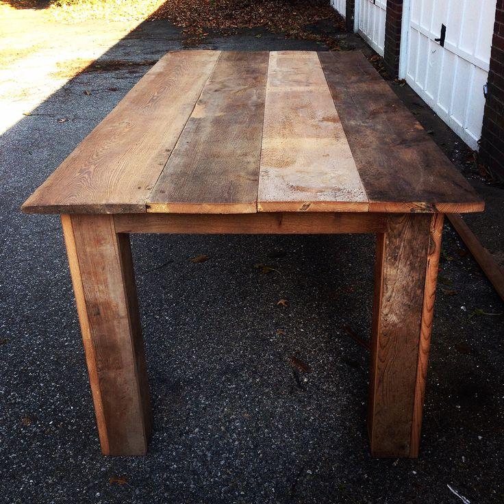 "Old Granary board dining table 40"" x 84"""