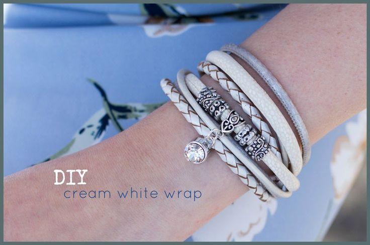 DIY pakket Cream white wrap