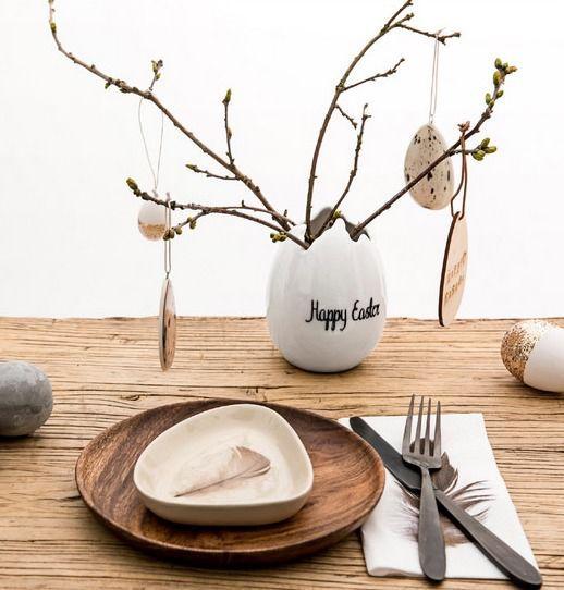 Wielkanocny stół - inspiracje, fot.mat.pras.Bloomingville