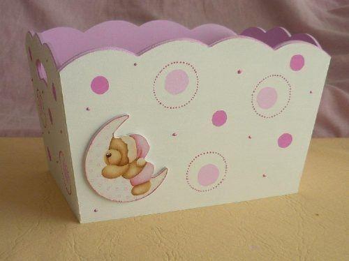 17 best images about pa aleras y cajas de bebe on - Cajas decoradas para bebes ...