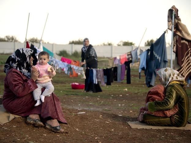 'It's A Disaster': Life Inside A Syrian Refugee Camp www.narenjtree.com