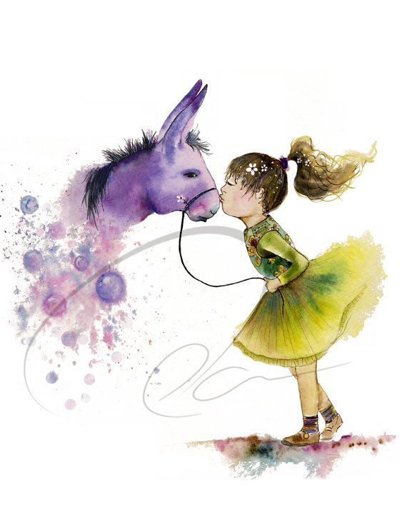 33 best images about oladesign art on pinterest for Cute watercolor paintings