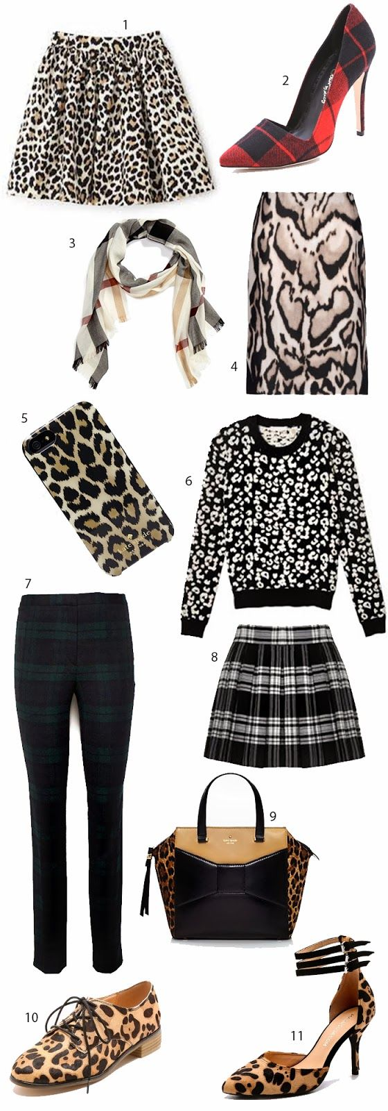 Darling Desires: Plaid and Leopard