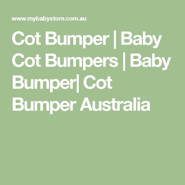 Cot Bumper | Baby Cot Bumpers | Baby Bumper| Cot Bumper Australia