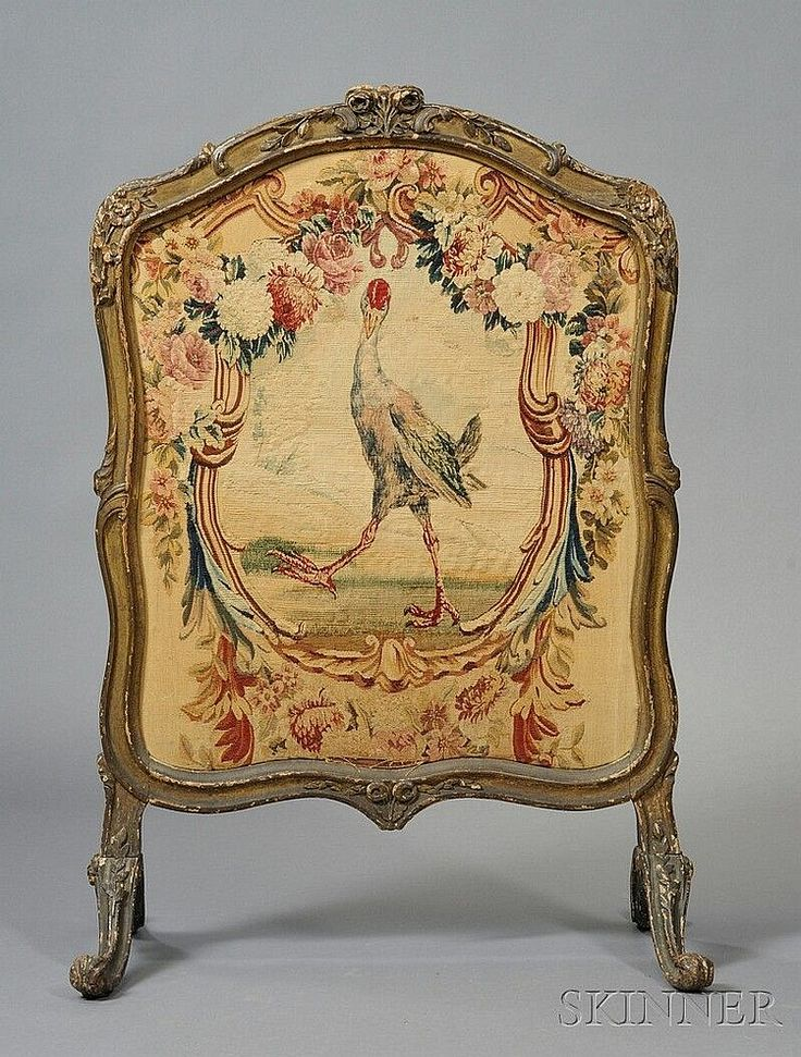 Folding screens and Antique furniture